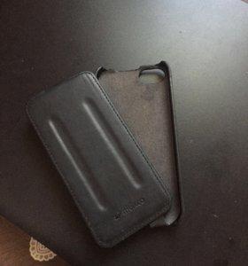 Чехол книжка и бампер iPhone 5/5s