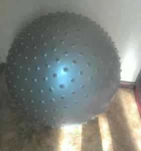 Мяч для фитнеса массажный, 60 см в диаметре