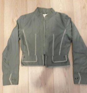 Джинсовка, куртка джинсовая 40-42 + подарок