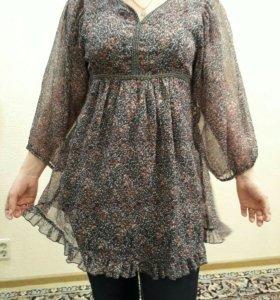 Платье - туника 48-50