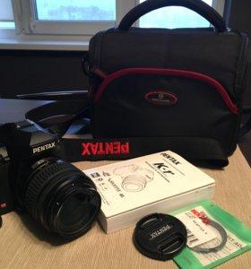 Фотоаппарат Pentax K-r с сумкой