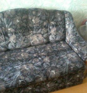 Продам диван +кресло