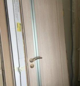 Двери межкомнатные (2х)