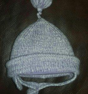 шапочка на 3-6 месяцев