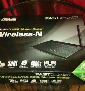 Wi-Fi роутер, Asus DSL- N10