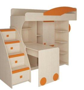Комбинированная детская мебель
