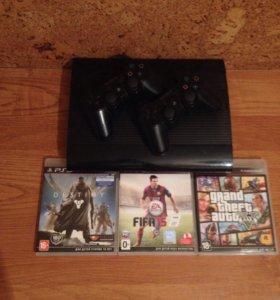 Sony PlayStation 3  (500гб)