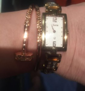Часы ( шарм) б/у и браслет