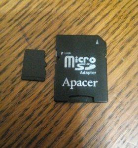 micro sd карта 2GB