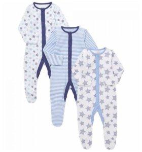 Комбинезон-пижама новый 80-86