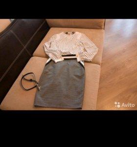 Классическое платье 42-44р-р