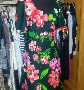 Платье 80-х