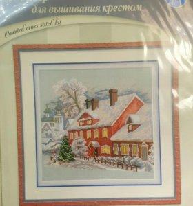 """Набор для вышивания RTO """"рождество"""""""