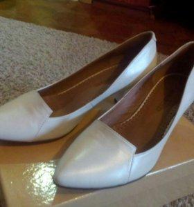 Туфли свадебные 38