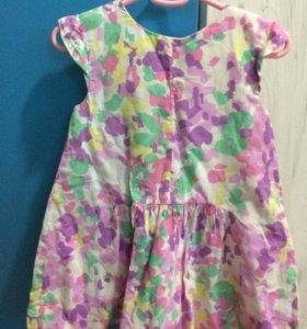 Платье Zara 92 см