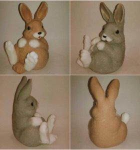 Мыло ручной работы  кролик