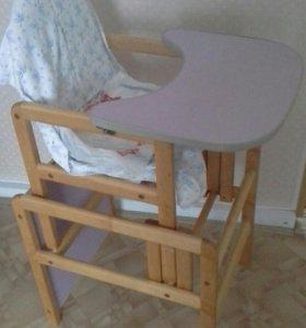 Детский стол-стул трансформер