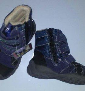 Новые ботинки Pio tex, р.25.