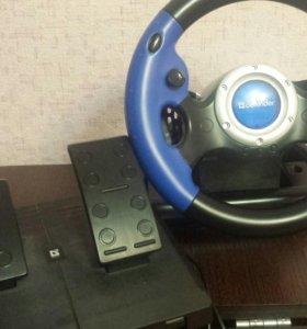 Игровой руль Defender-Turbo