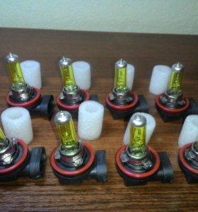 Лампы H11 12v желтые