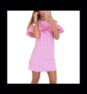 Розовое платье новое