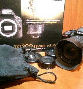 Nikon D3300 kit 18-105
