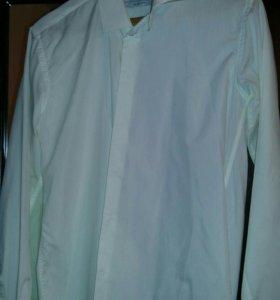 Рубашка мужская цвет айвори