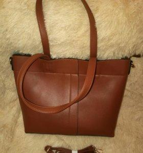 Коричневые сумки женские