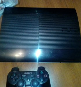 Playstation 3 250гб + 4 игры