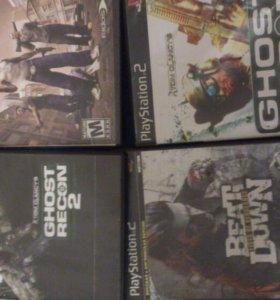 Диски(игры)на Sony PlayStation 2