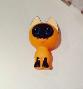 Игрушки пищалки в виде собачки и кошки