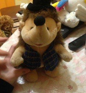 Игрушка ёж в шляпке