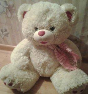 медведь большой мягкая игрушка