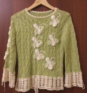 Вязанный свитер, джемпер