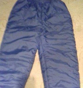 брюки болоневые