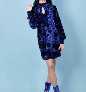 Новое платье из эковелюра