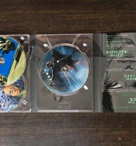 Матрица. Трилогия. DVD Коллекционное издание