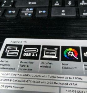 Игровой Acer Aspire E5-575G-50AZ
