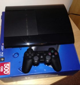 PS3 SS 500GB и 15шт игр