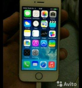Срочно IPhone 5s 15gb silver
