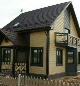 Монтаж каркасных домов