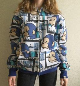 zip hoodie baby milo by a bathing ape