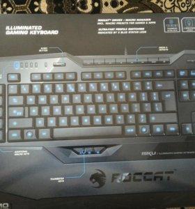Клавиатура ROCCAT ISKU. В хорошем состоянии.