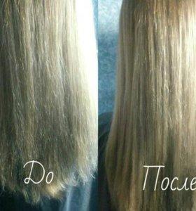 Био-стрижка(удаление сеченых волос)