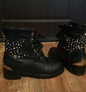 Ботинки зимние, или демисезонные.