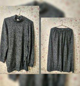 Комплект из туники и юбки