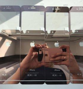Защитные стёкла на iPhone 6,6s.