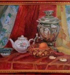 Картина натюрморт холст масло