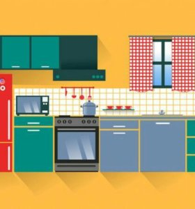 Кухонный гарнитур новый.