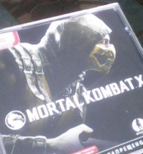 Диск Mortal Kombat X на PC/ПК